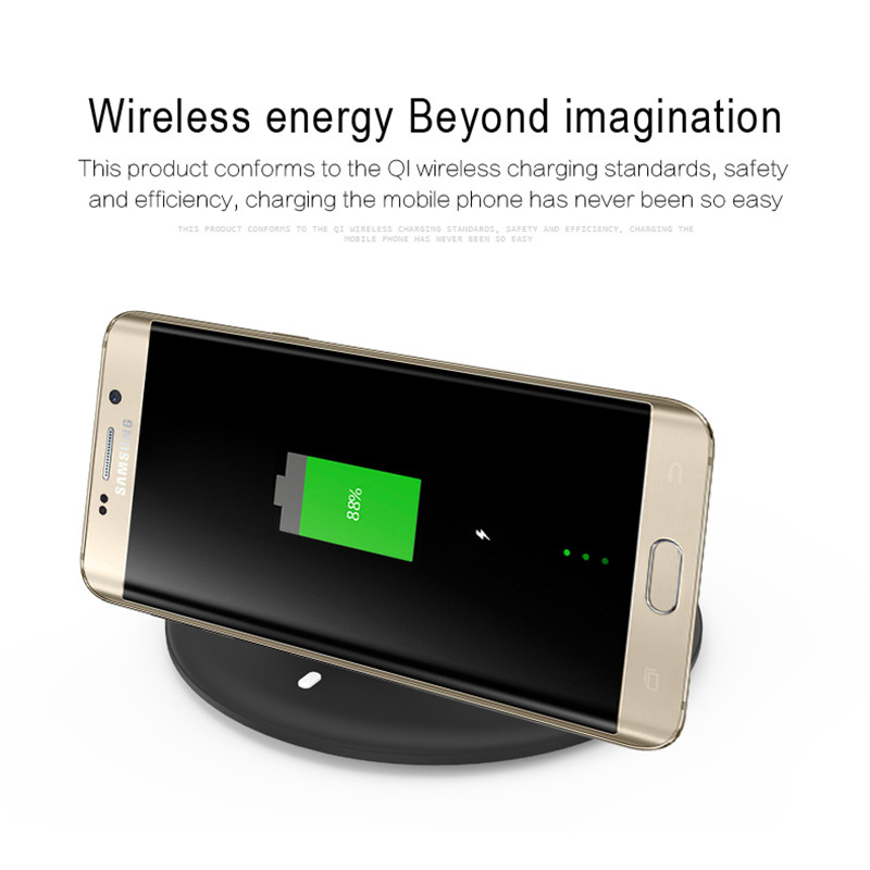 M120 Foldable Stand Smart Fast Qi Wireless Charger Charging Pad