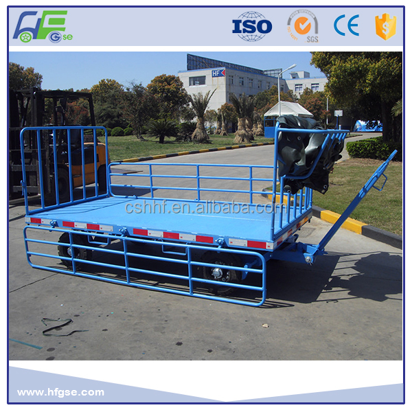 Airport 4 Wheel Trailer for luggage Transportation
