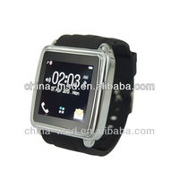 2013 new item bluetooth watch support Android mobile phone/ i phone with APP