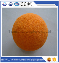 concrete pump pipe medium soft cleaning sponge ball