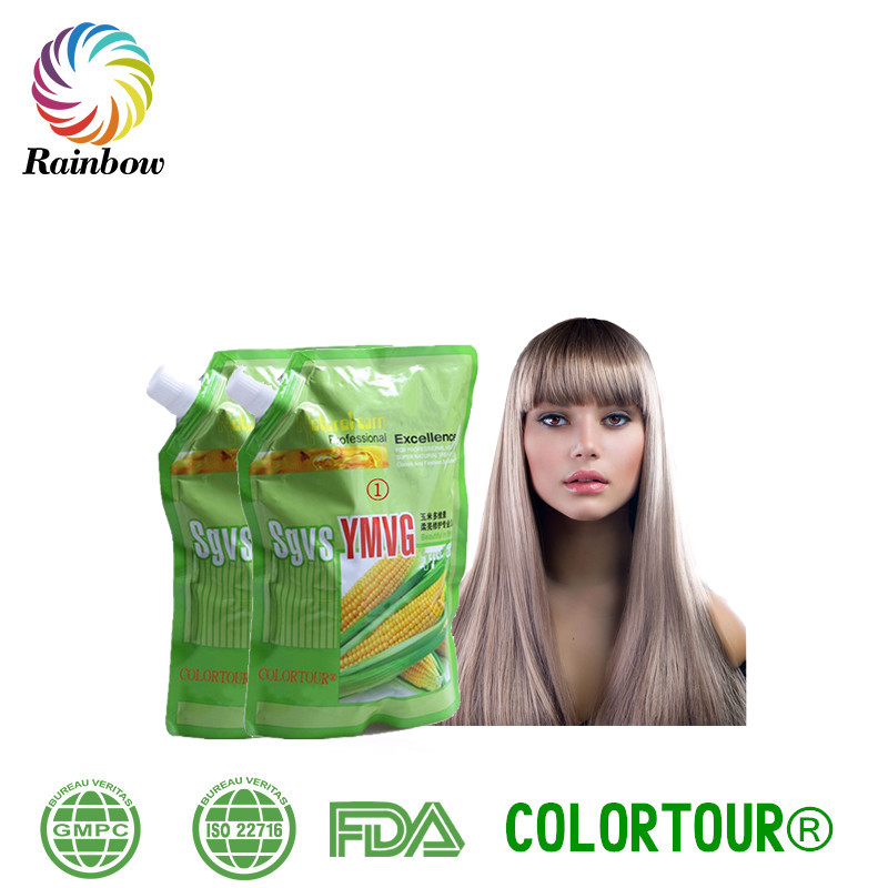Colortour elegance hair straightening cream perm lotion