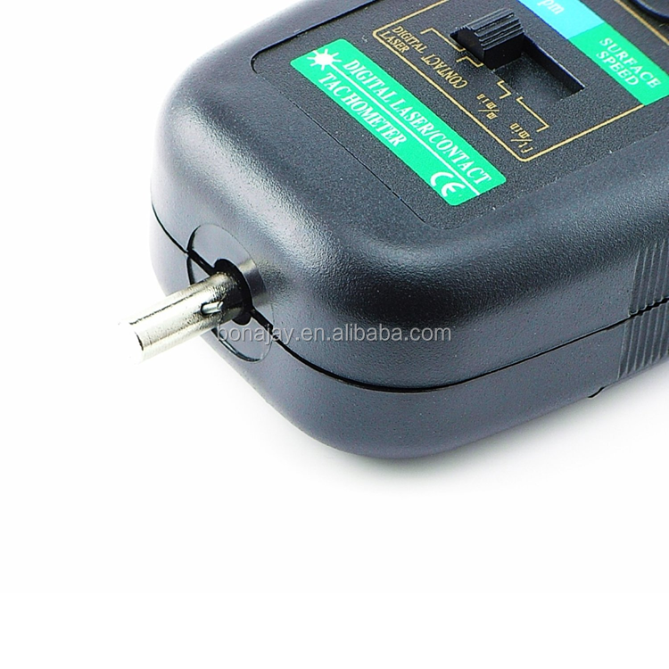 DT-2236c Handheld Auto Ranging 2in1 Digital Laser Non-Contact & Contact Tachometer