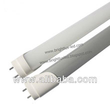 18watts led tube light with input voltage 85-300VAC