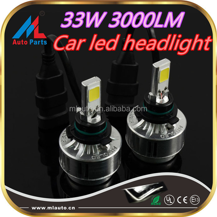 DC9-16V hi-lo beam h5 9006 headlight bulb 3000lm car cx-5 headlight booster
