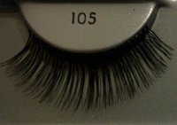 100% human hair Strip eyelashes made in Indonesia