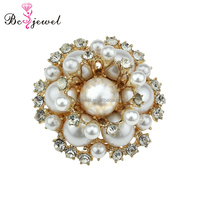 New Stylish Pearl Shoe Clip Jewelry