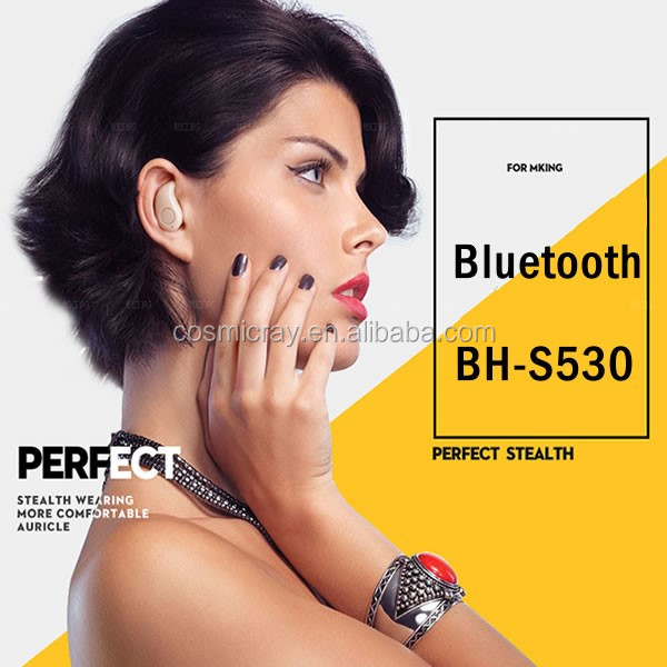 China best selling electronic products mini stereo waterproof bluetooth headset wholesale