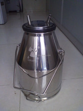 Stainless Steel Miking Machine Sanitary Milk Bucket