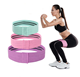 3 Pack One Set Different Training Fitness Bands Resistance Cotton Resistance Loop Exercise Bands