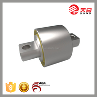 sleeve slide bimetal bronze steel bushing/Auto rubber bushing made in china alibaba
