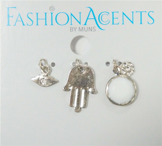 alloy pendant set 3 pcs