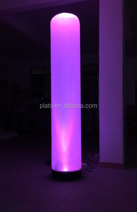 Hot Selling Inflatable Advertising LED Tube with Different Color