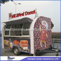 Customized Design Professional Mobile donut machine cart JX-FS290C
