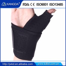 medical orthopedic pain relief fracture thumb finger elastic support splint brace band strap belt