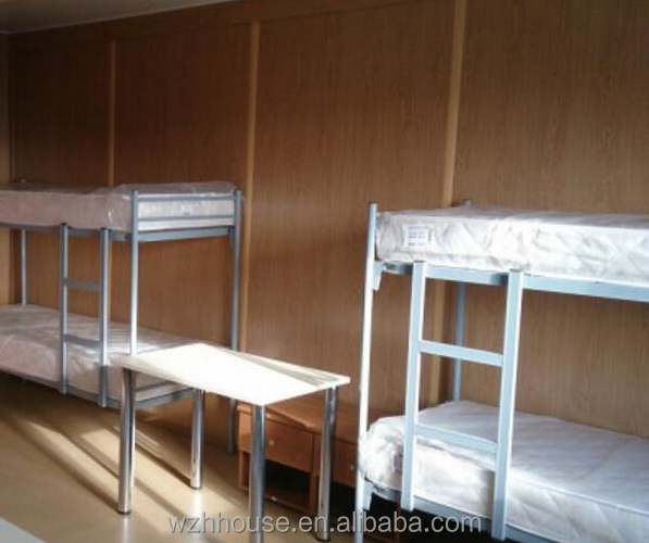 Modular Flat Pack Container House for Student Accommodation with Electronic Security