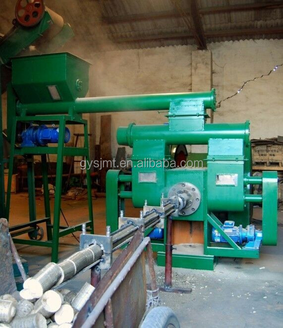 Energy -saving wood sawdust sugarcane stamping extruder press machine with ISO