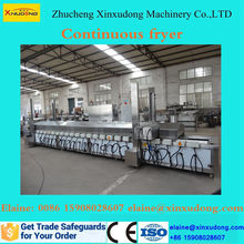 hot sale automatic commercial continuous deep fryer