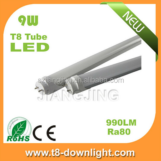 electronic ballast compatible 600mm T8 LED retrofit tube 9W 10W 4000K neutral white