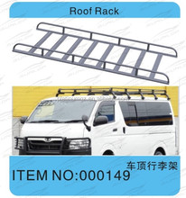 SUNLOP for hiace COMMUTER VAN BODY KITS #000149 roof rack FOR for hiace 2005 UP KDH200 2TR