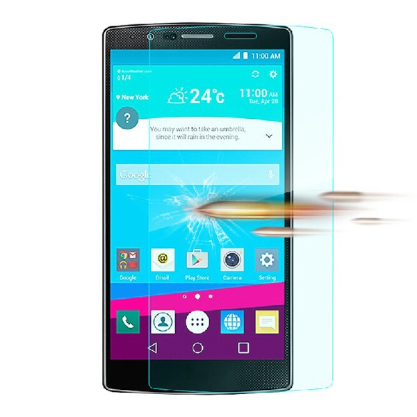free sample screen protector for LG G4, 9H 2.5D 0.3mm tempered glass film OEM/ODM
