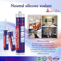 durable neutral silicone sealant for flat glass