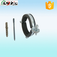 galvanized carbon steel 195 gi pipe clamp