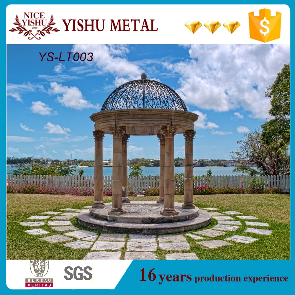 Garden Wrought iron gazebo for sale