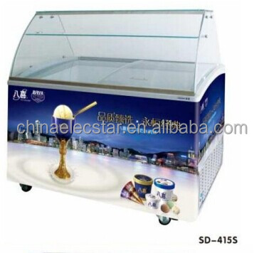 Ice Cream Scooping Freezer Ice Cream Dipping Cabinet