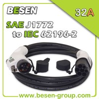 32A Charging Cable Electric Car 62196 j1772 With CE, TUV, UL Certificates