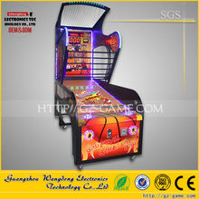 Luxury basketball arcade machine,Indoor arcade hoops cabinet basketball game from wangdong