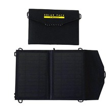 2018 New Model Portable Waterproof Foldable Solar Charger For Mobile Phone