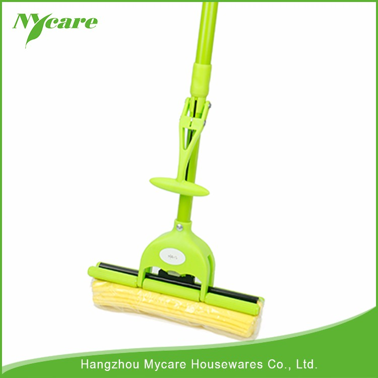 More durable than cotton cloth easy wash sponge mop