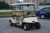 2015 new Customized cheap 6+2 person golf cart folding electric golf carts