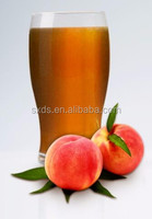 Wholesale fruit sweet honey peach juice concentrate type high concentrated peach flavor syrup for fruit drinks