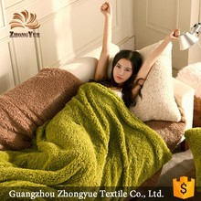 2017 new design textile products warm woollen blanket soft touch home and hotel use comfortable