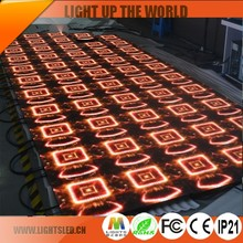 p5/p6/p8 Stage LED Video Dance Floor P10.416 LED Display 500*500MM/LED Dance Panel 8.5kg/panel LED Dance