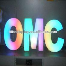 Backlit LED Advertising Letter Sign