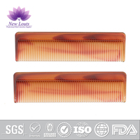 Disposable personal care travel plastic comb