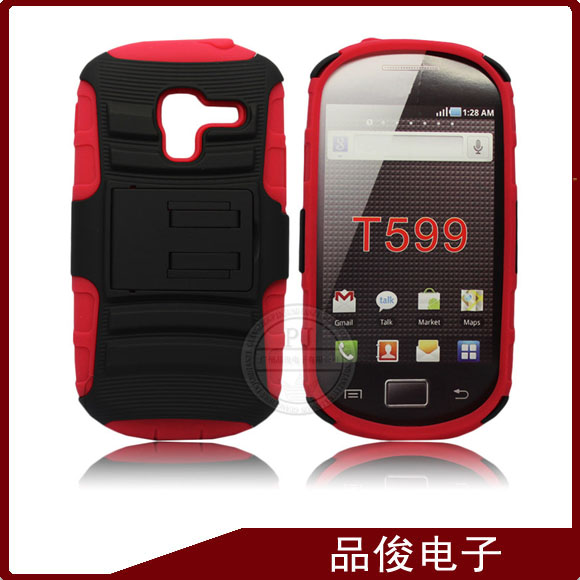 The robot hybird mobile phone cases for samsung galaxy exhibit t599 cover