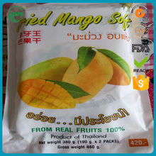 High quality dried mango plastic clear food grade bag