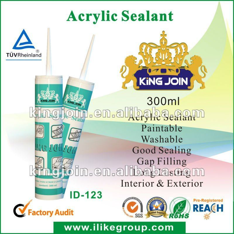 Siliconized Acrylic Latex Sealant, Siliconized Acrylic Sealant