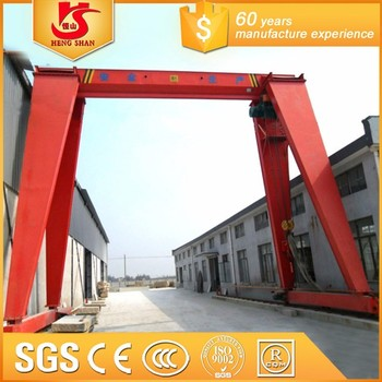 Wholesale Electric Hoist Single Beam Gantry Crane Lifting Box