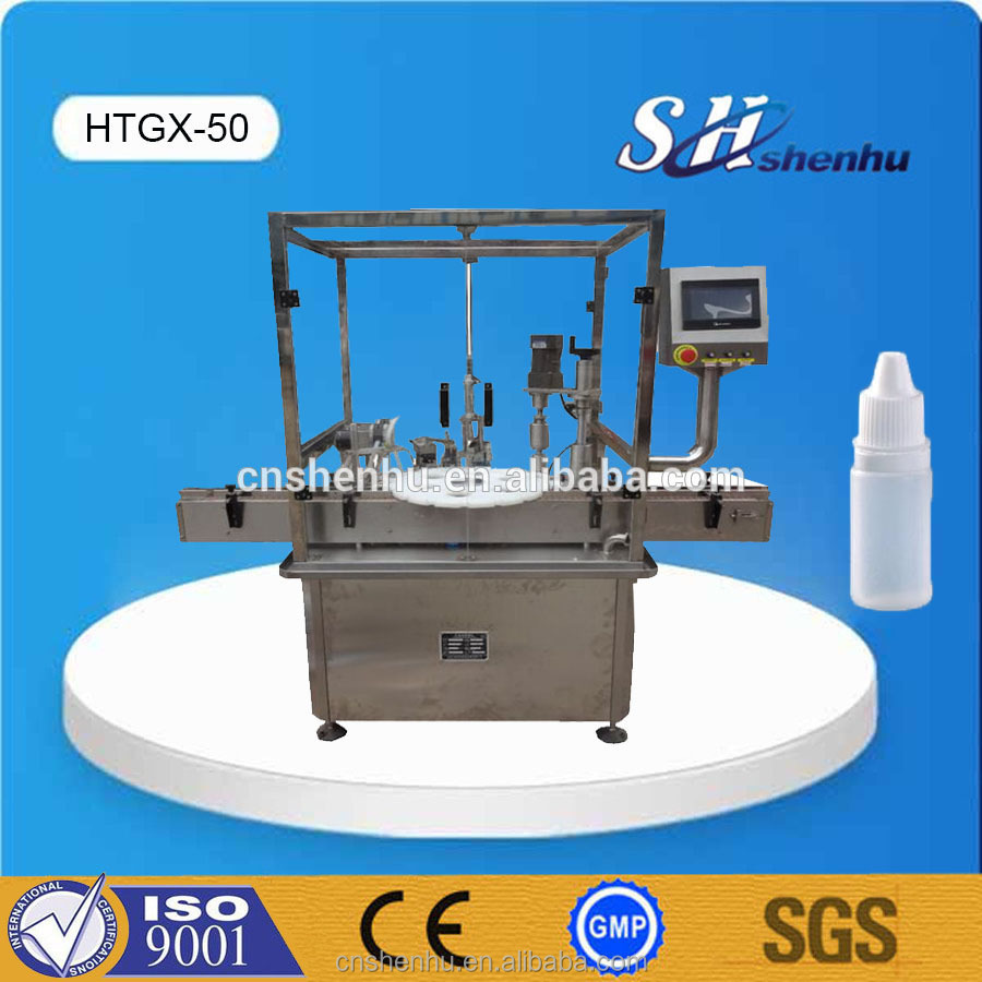Automatic 10ml Eyedrop Filling Capping Machine for Drip Tip Bottle