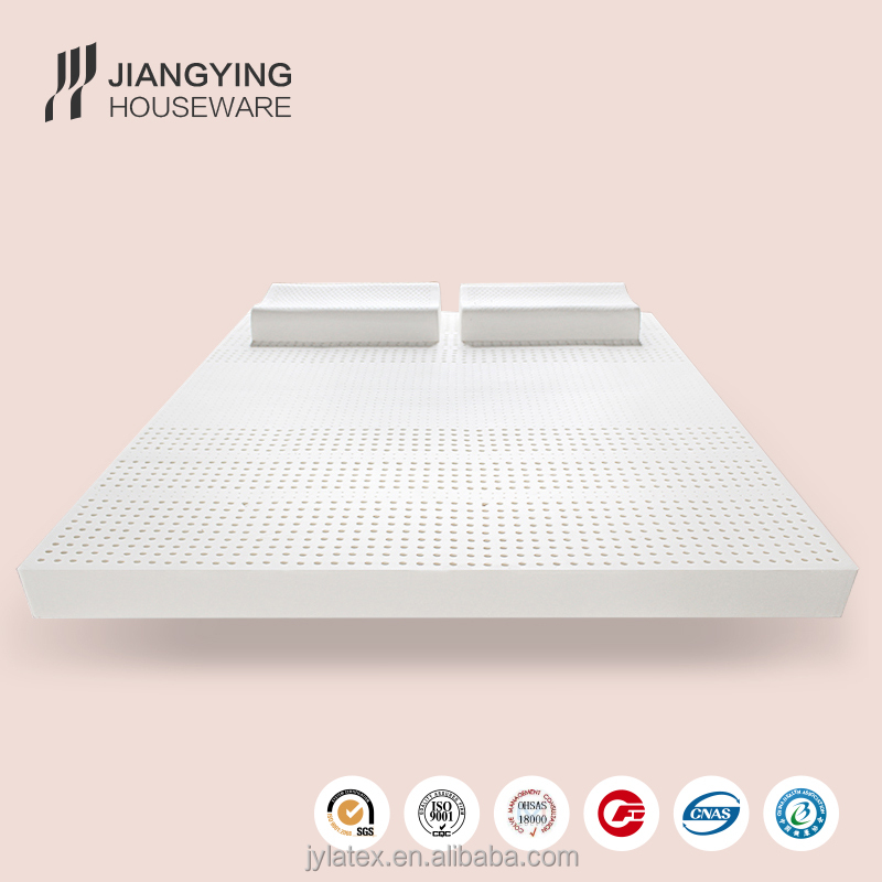 Natural latex memory foam hotel bed mattress