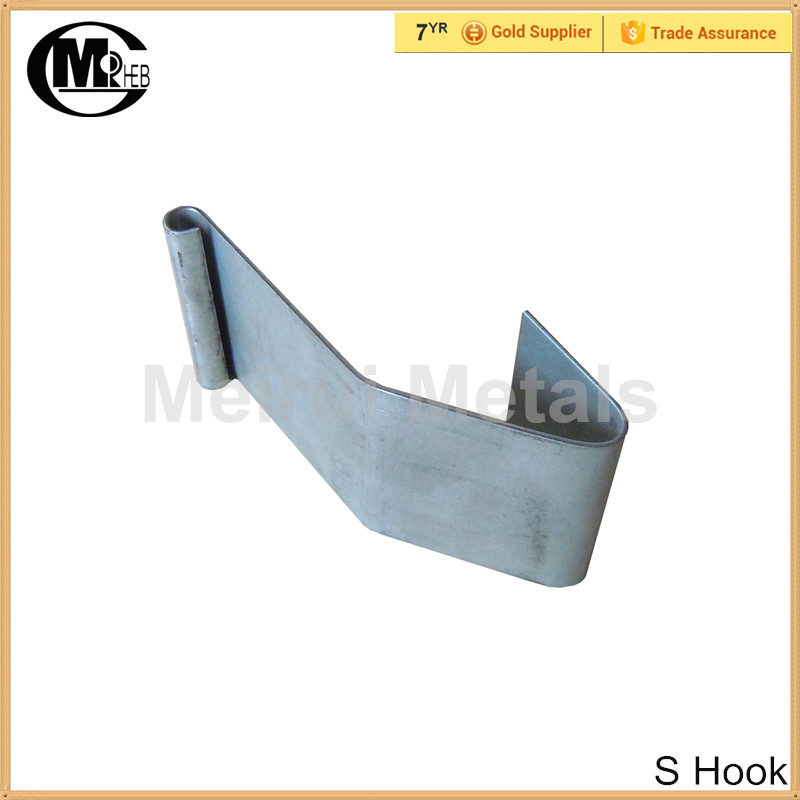 "Latest design S"" spring box clips/clasp/metal hook for door hardware"