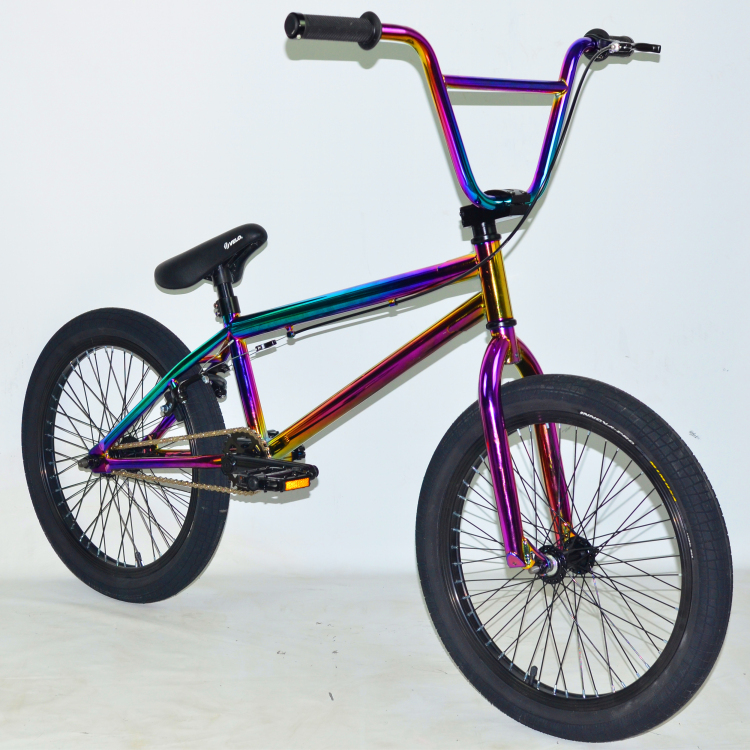 Oilslick light cheap bmx frames freestyle bike for sale custom bikes