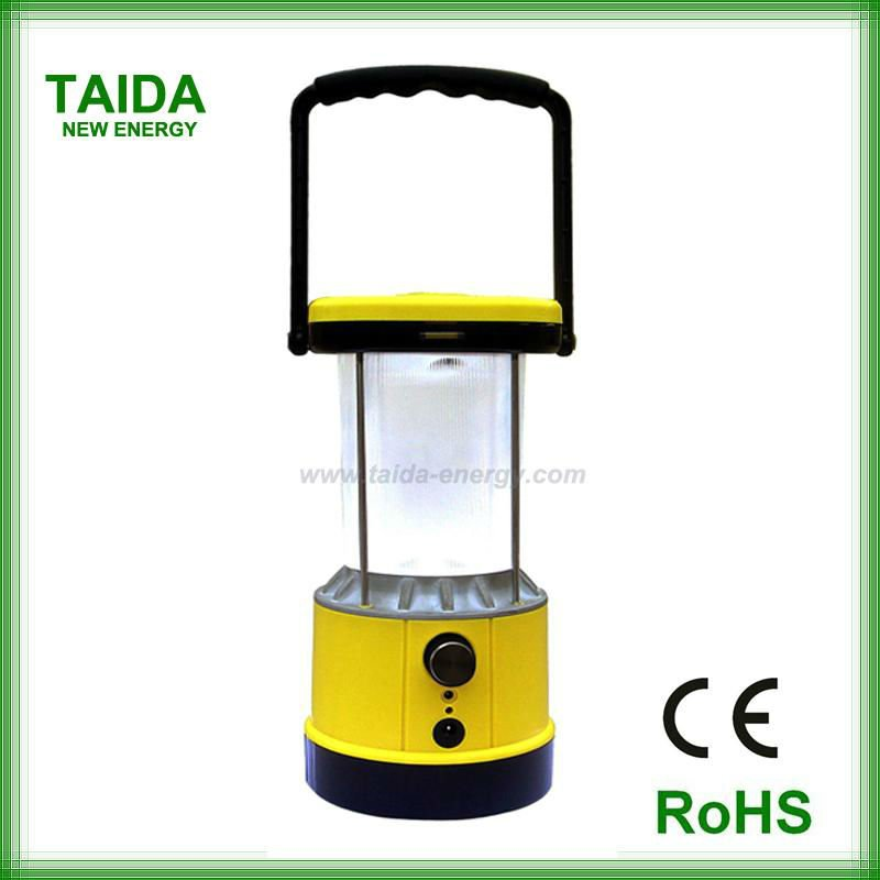 Portable solar led lantern for village family emergency lighting