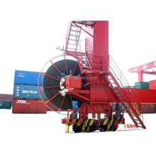 Crane cable winding equipment automatic hose reel/heavy duty hose reel for gantry crane