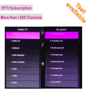 1 year IPTV account Subscription apk account for middle east india pakistan iptv test available