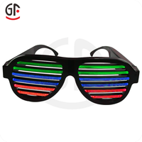 Innovative Products Direct Factory Crazy Party Favors Sound Activated Shutter 2016 Led Glasses